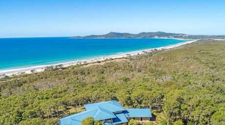 SOLD: This stunning property at 312 Teewah Beach Road, Noosa North Shore.