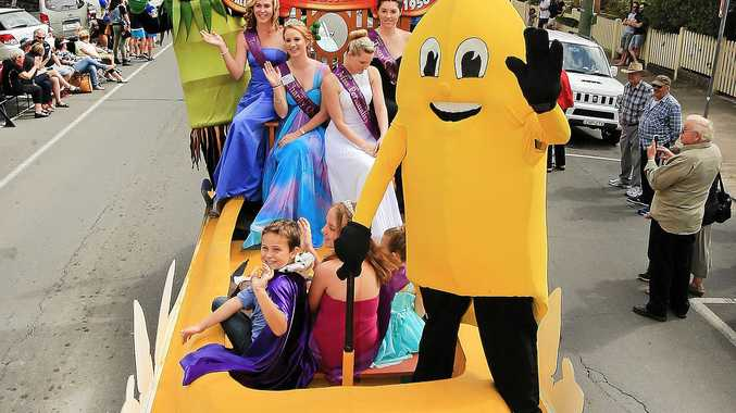 The annual Banana Festival parade is returning