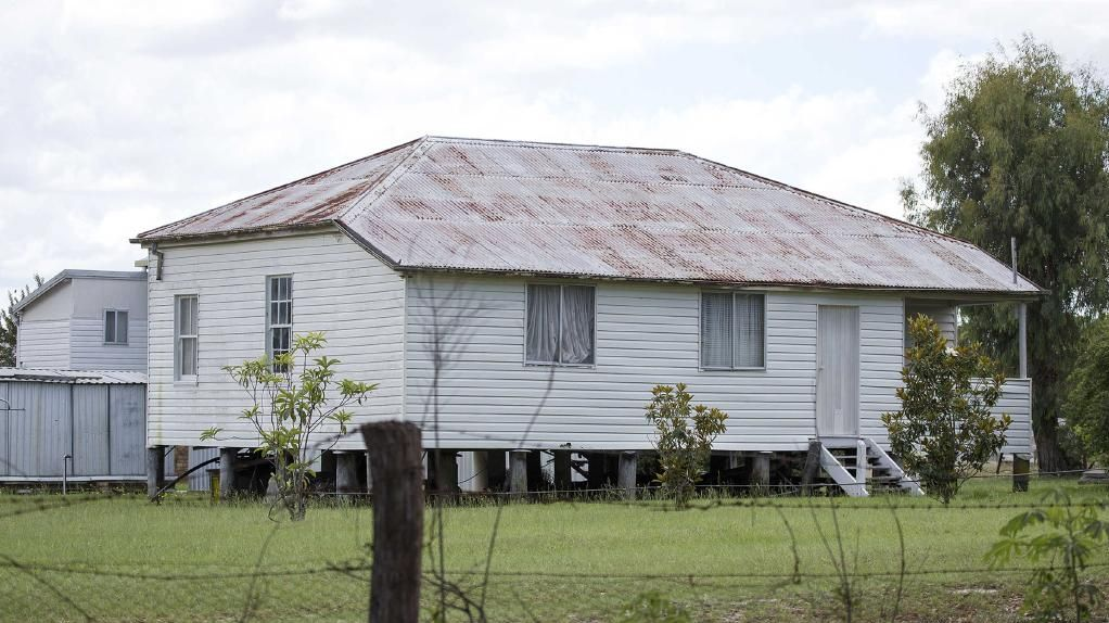 Exterior of the property where a five-year-old boy was accidentally shot by his cousin. Picture: AAP/Image Sarah Marshall