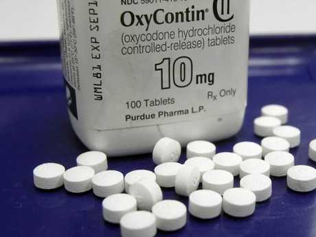 The maker of powerful painkiller OxyContin said it will stop marketing opioid drugs to doctors in the US after claims it helped spark the drug abuse epidemic in the country. Picture: Toby Talbot