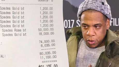 Jay-Z blew a lot of cash on a night out