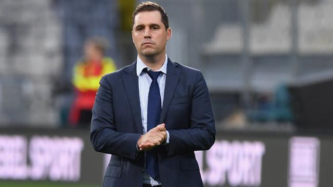 New Rebels coach Dave Wessels.