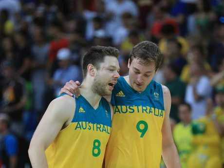 Matthew Dellavedova and Ryan Broekhoff.