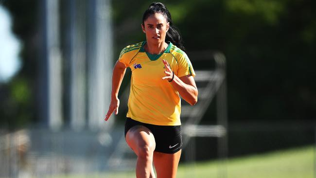 Sprinter Jessica Peris Is Back On Track This Year As Part Of The Athletics Australia Extended