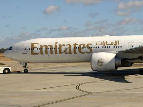 Emirates defended the crew member's decision. Picture: Mike Keating