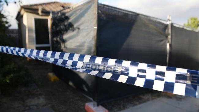 Three people have been found dead inside the charred wreckage of a suspicious house fire in Canberra. Picture Gary Ramage