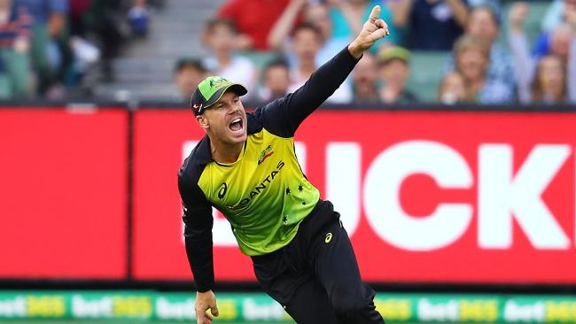 Australia has won all four of its matches in the tri-series.
