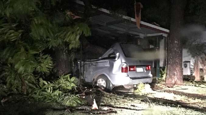 SUPER CELL: 'It was like Cyclone Debbie' with 104km/h wind