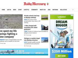 Welcome to the Daily Mercury's new look website