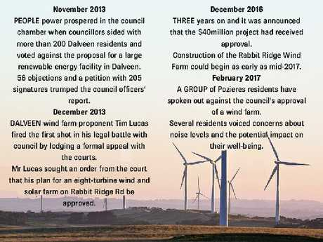 A proposed wind farm at Dalveen has come a long way since first being touted back in 2013.