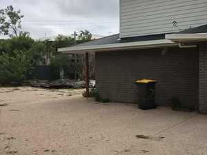 Timber pierces home in storm