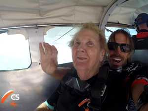 'Supernan' jumps out of plane