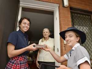 Students deliver Meals on Wheels