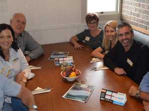 Gympie Chamber of Commerce board members (clockwise