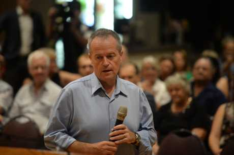 Bill Shorten spoke about a range of issues impacting the lives of Central Queenslanders.