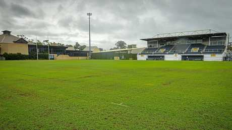 Marley Brown Oval will be the venue for the Gold Coast Titans-Manly Sea Eagles game on April 8.