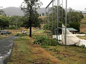 Tenthill Storm Damage Thursday, 15 February