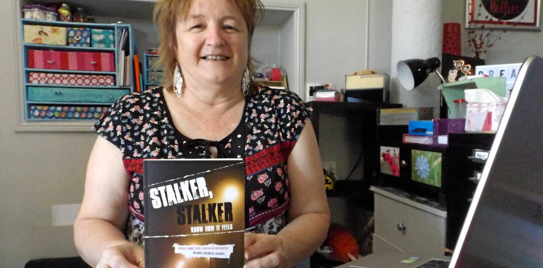 NEW BOOK: Therese Sullivan found a safe haven in prose and will launch her first published novel Stalker, Stalker - Know How It Feels in March.