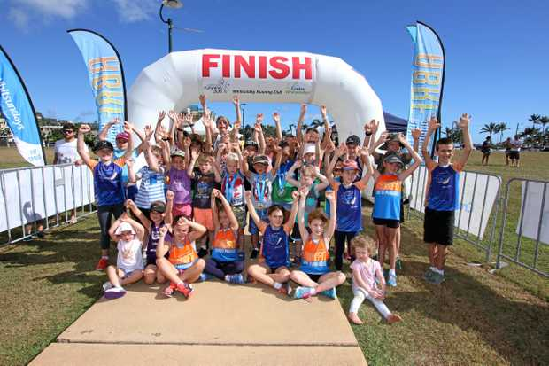 FUN FOR ALL: Children and families were a big part of the 2017 Airlie Beach Running Festival last year.