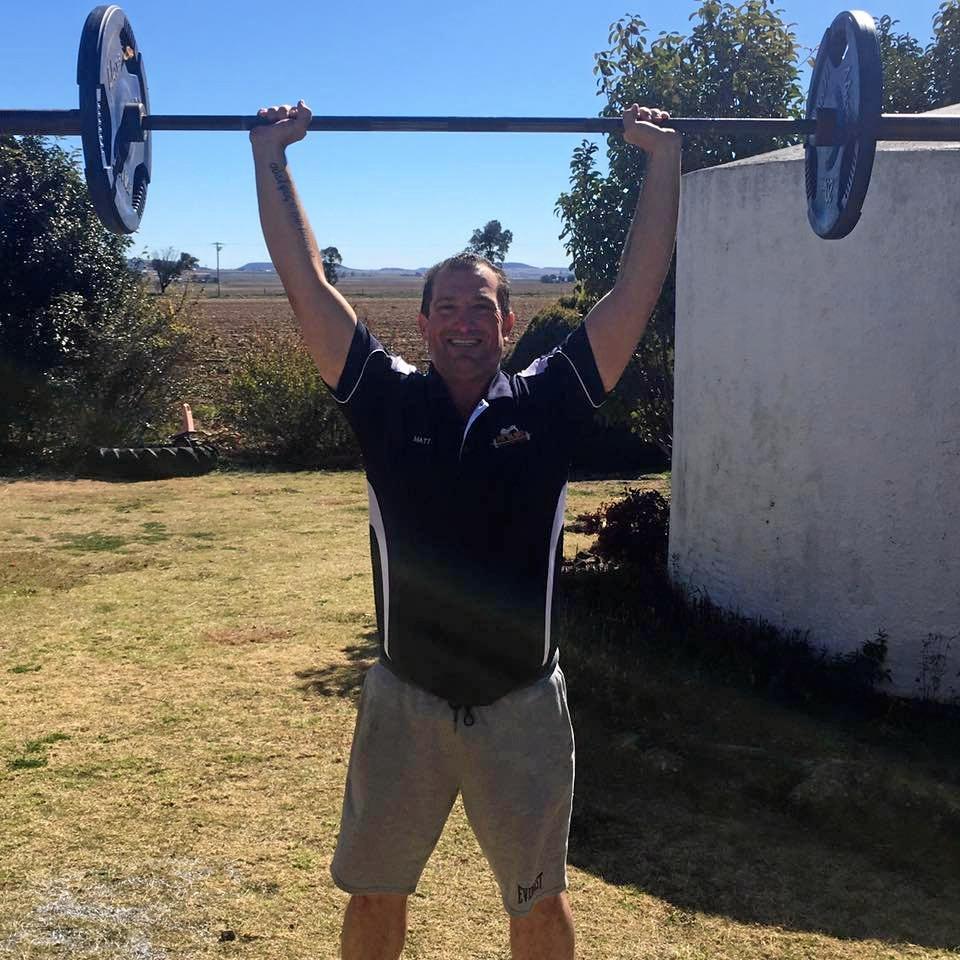 Matt Gurney from Fitbloke Motivational Coaching.