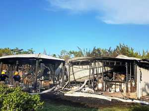 QFES defends 'slow' response to Waite Creek Crt fire
