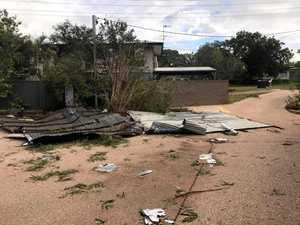 Moranbah storm damage February 2018
