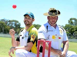 Howzat! Cricketers think pink for cause