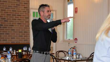 Gympie Chamber of Commerce president Ben Riches