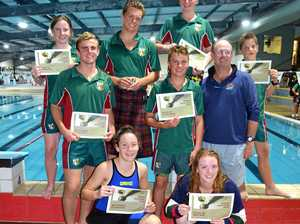 See list of age champions at Warwick All Schools swimming
