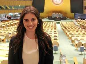 Rocky woman spreads message of peace in UN speech