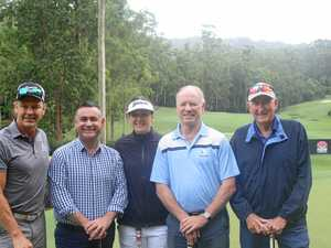 Assorted sporting stars swing by Bonville Golf Resort
