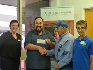 Funds donated to benefit hospital