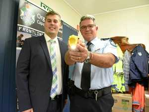 Coast cops add new tasers to their belts