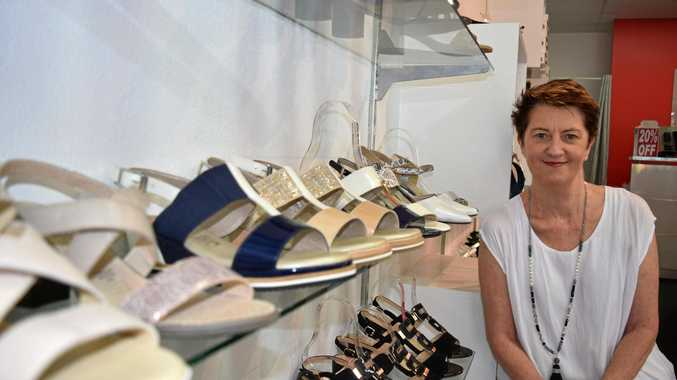 STEP DOWN: Sue Scarlett is selling her shop after 22 years in the Noosa Junction.