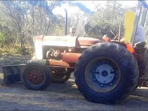 Police looking for stolen tractor