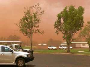 Storms hit the outback