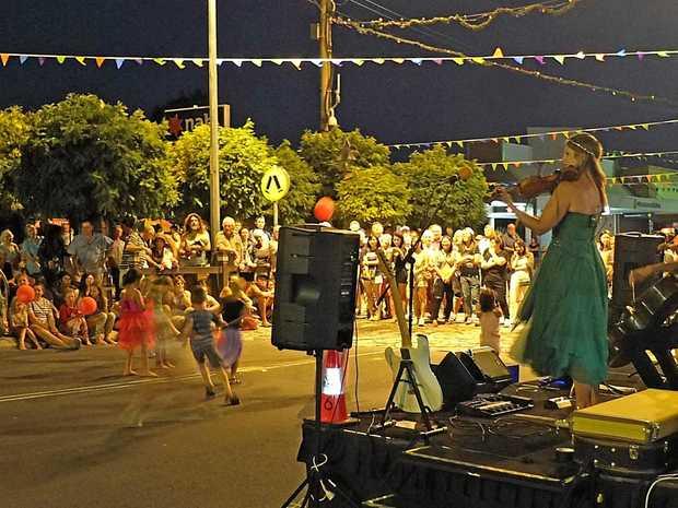 UNDER WAY: Ten days of fun and frivolity kicks off tomorrow night in the main street.