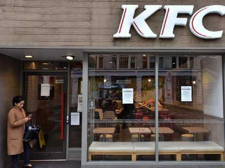 Nottingham city centre KFC starts selling chicken again after delivery
