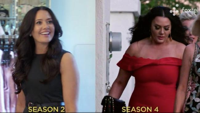 The show did you wrong with this side-by-side, Lydia, they did you wrong