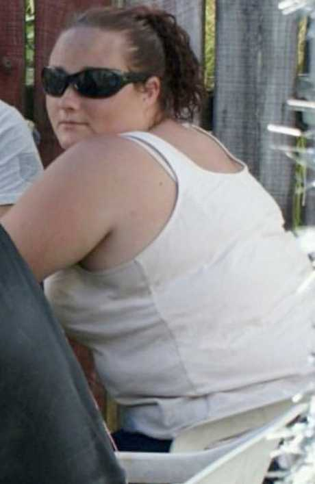 Ali Richards, before she overhauled her diet. Picture: Caters