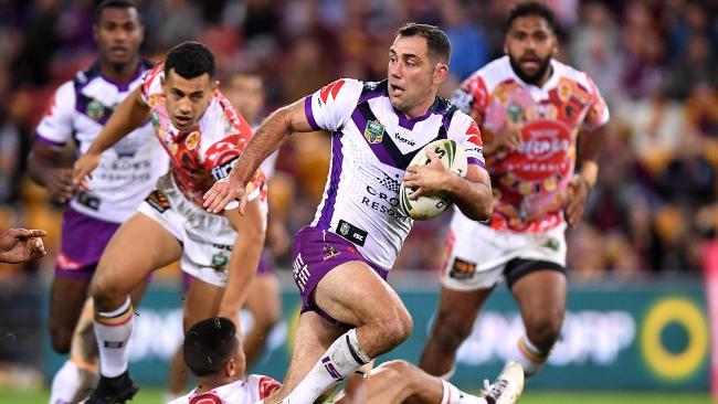 A Queensland hero during Origin, Smith has tormented the Brisbane Broncos over the course of his career. Photo: Bradley Kanaris