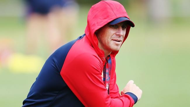 Melbourne coach Simon Goodwin says Jack Viney will be right for Round 1. Picture: Getty Images