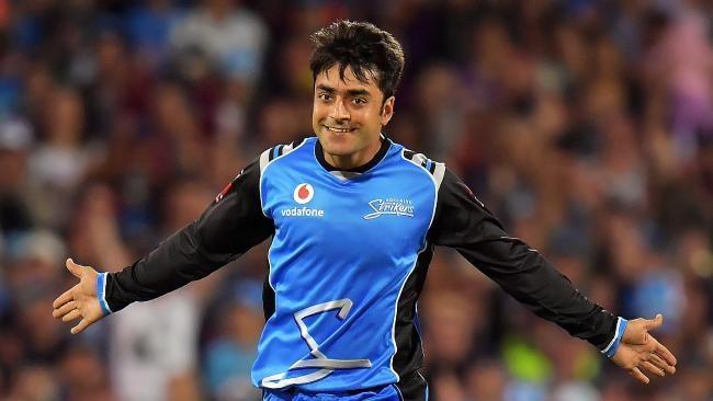 Rashid Khan sits atop the ICC's ODI bowling charts.