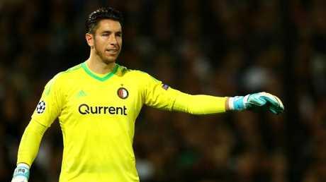 Brad Jones of Feyenoord.