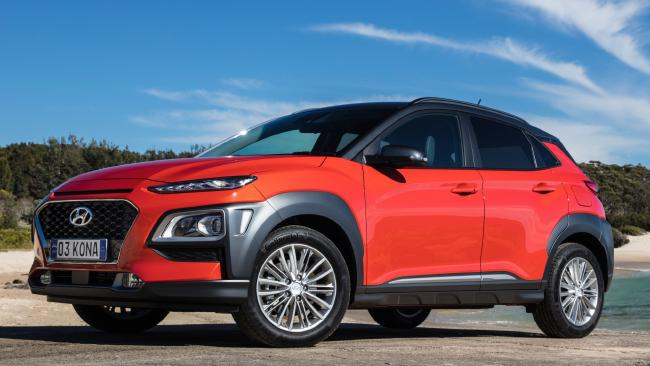 The Hyundai Kona could be available with electric power by the end of the year. Pic: Supplied.