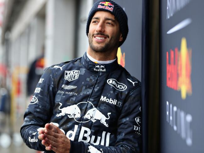 Daniel Ricciardo is staying positive. (Photo by Mark Thompson/Getty Images)