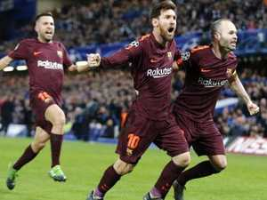 Messi punishes Chelsea, ends hoodoo after Willian stunner