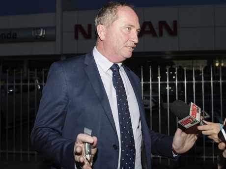 Barnaby Joyce says it's time to move on. Picture: Hollie Adams/The Australian