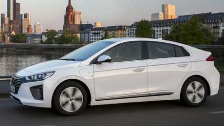 The Ioniq EV has been delayed in Australia because of demand overseas. Pic: Supplied.