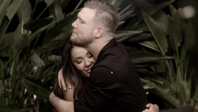 Davina and Dean's plot to head off into the sunset delivered high ratings for Married at First Sight. (Pic: Supplied)